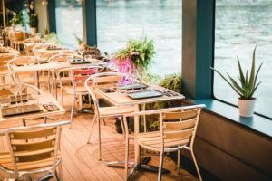 Croisières de paris : repas italien